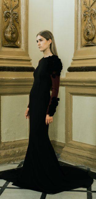 10_FW16_Pedro-Pires_vestido-negro-noche-largo-neopreno